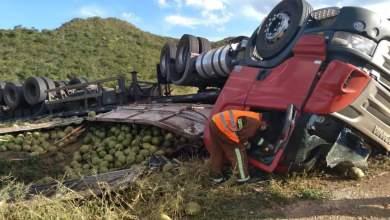 Photo of #Chapada: Acidente envolvendo carreta deixa duas vítimas fatais na região do município de Ibitiara
