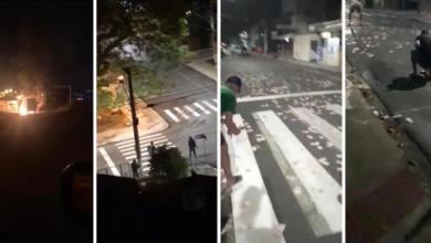 Photo of #Vídeos: Criminosos explodem banco, trocam tiro com a polícia e deixam grande quantia de dinheiro para trás em Criciúma