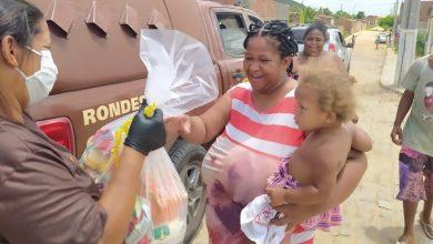 Photo of #Chapada: Campanha de Natal da Rondesp em Itaberaba arrecada uma tonelada de alimentos e distribui para famílias
