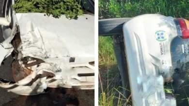Photo of #Chapada: Acidente de carro em via entre a sede e povoado de Piritiba deixa três pessoas feridas
