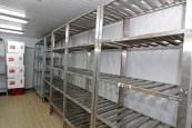 Câmara fria do Centro Estadual de Armazenamento de Imunobiológicos. Onde ficarão guardadas metade das vacinas enviadas para Bahia - Fotos Fernando VivasGOVBA (4)