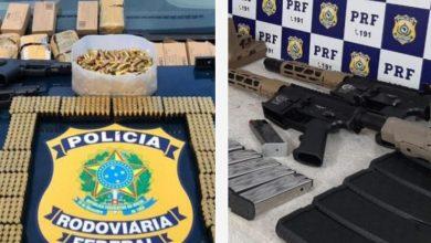 Photo of #Bahia: PRF faz balanço e registra aumento de mais de 300% em apreensão de munições e pistolas desde 2019 no estado