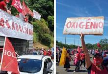 Photo of #Brasil: Capitais do país registram manifestações pela vacina e contra o governo de Bolsonaro