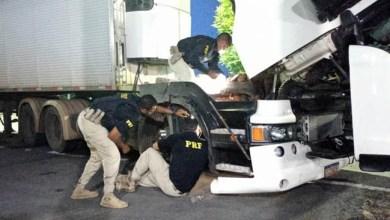 Photo of #Chapada: PRF apreende caminhão adulterado e com restrição judicial na região de Itaberaba