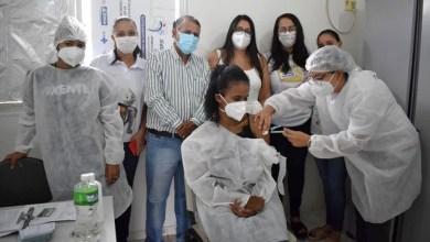 Photo of #Chapada: Nova Redenção começa vacinação contra a covid e primeira dose é aplicada em uma técnica de enfermagem