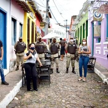 A prefeitura, administrada pela prefeita Vanessa Senna, decretou o 'toque de recolher'   FOTO: Divulgação/PML  