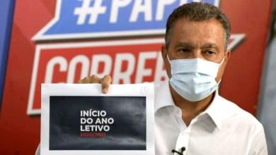 Photo of #Bahia: Governador anuncia início do ano letivo na rede estadual de ensino para o dia 15 de março