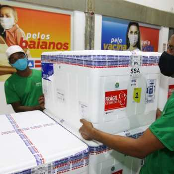 A Bahia totaliza 1.289.800 doses recebidas   FOTO: Rafael Menezes/Saúde/GOVBA  