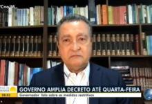 Photo of #Vídeo: Governador Rui Costa chora ao falar de vítima jovem da covid-19 na Bahia durante entrevista para emissora de TV