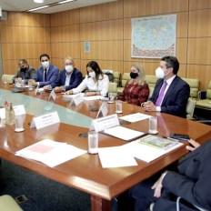 O ministro Gilson Machado, se comprometeu em conhecer os potenciais turísticos da Chapada | FOTO: Divulgação/Ascom Setur |