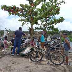 Famílias despejadas em Porto Seguro em plena pandemia da covid-19 - FOTO Divulgação 1