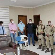 Reunião do prefeito com policiais militares sobre segurança pública - FOTO Divulgação 2