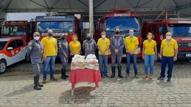 Photo of #Chapada: Lions Clube de Itaberaba doa cestas básicas para campanha contra a fome do Corpo de Bombeiros
