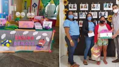 Photo of #Chapada: Prefeitura de Ibiquera entrega kits de alimentação para estudantes da rede municipal de ensino