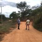 O prefeito vistoriou o local com equipe de governo | FOTO: Divulgação |