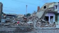 A explosão matou duas pessoas e feriu outras | FOTO: Divulgação/ Prefeitura de Crisópolis |