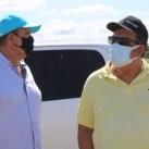 O prefeito Dinho durante atividade em Boa Vista Tupim - FOTO Divulgação 3