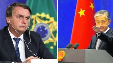 """Photo of #Polêmica: Governo chinês reage à insinuação de Bolsonaro sobre guerra química e diz que não vai """"politizar o vírus"""""""