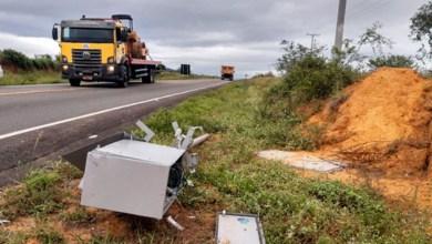 Photo of #Chapada: Radar em rodovia na altura do município de Tanhaçu é derrubado e destruído
