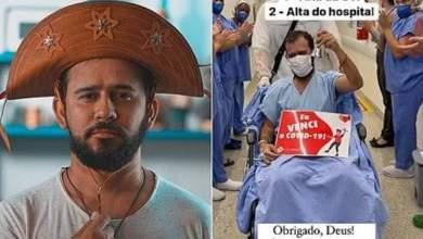 Photo of #Brasil: Poeta Bráulio Bessa recebe alta após ficar internado em UTI para tratar de complicações da covid-19