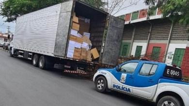 Photo of #Bahia: Decarga intercepta caminhão com R$800 mil em produtos falsificados na região de Feira de Santana