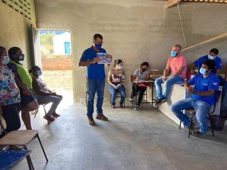 O atual prefeito de Piatã, Marcos Paulo   FOTO: Divulgação  