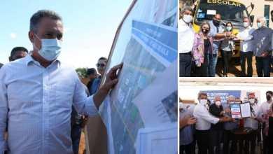 Photo of #Chapada: Rui Costa entrega ônibus escolares, obras de abastecimento de água e anuncia investimentos de R$47 milhões em Iraquara