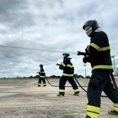 Os treinamentos acontecem de forma contínua no 11ºGBM | FOTO: Divulgação |