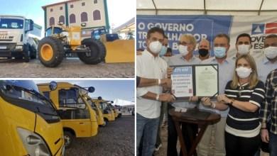 Photo of #Chapada: Mais de R$1 milhão em máquinas para fortalecer o consórcio de prefeituras da região é entregue por Rui em Andaraí
