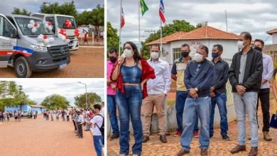 Photo of #Chapada: Nova Redenção celebra aniversário de 70 anos de fundação e prefeitura faz entrega de veículos