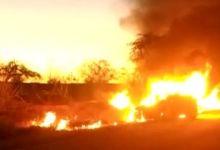 Photo of #Chapada: Veículo de passeio pega fogo após colisão na estrada entre distrito de Jacobina e Ourolândia