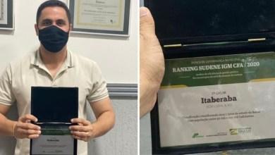 Photo of #Chapada: Itaberaba ganha reconhecimento de segundo lugar em administração pública