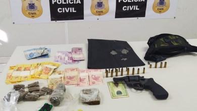 Photo of #Chapada: Homem suspeito de homicídio é preso com arma e drogas no município de Várzea da Roça