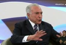 Photo of #Brasil: Ex-presidente Temer afirma que Bolsonaro cometeu crime de responsabilidade no 7 de Setembro; veja vídeo