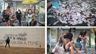 Photo of #Brasil: MST escracha o ministro Paulo Guedes em frente ao Ministério da Economia após caso Pandora Papers