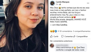 Photo of #Brasil: Mulher grávida de sete meses morre após usar medicação abortiva; namorado foi preso