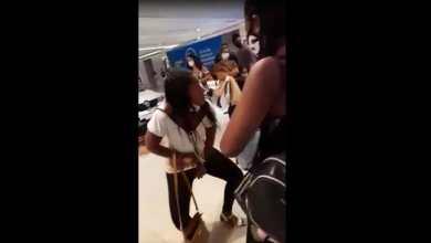 Photo of #Vídeo: Mulher tira a roupa em Lojas Americanas ao acusar funcionários de racismo em Salvador