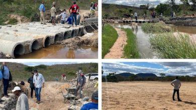 Photo of #Chapada: Após ouvir demanda da comunidade de 'Lagoa dos Bastos', obra da ponte em Piatã está avançada