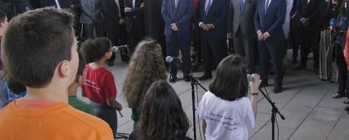 Primeiro-ministro na inauguração de novas instalações da Escola Básica e Secundária da Batalha