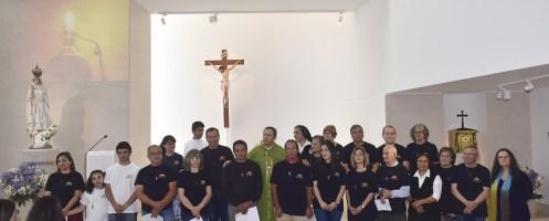 Grupo Missionário Ondjoyetu celebrou envio na Golpilheira