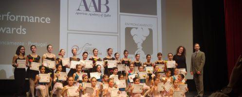 "Bailarinos batalhenses premiados no ""Performance Awards"" da American Academy of Ballet"