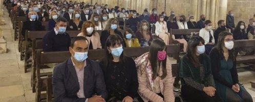 Adolescentes do 10.º ano da Comunidade Cristã da Golpilheira celebraram o Crisma
