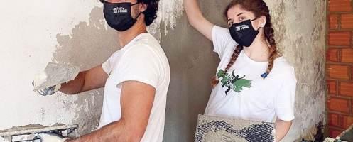 Mais de 350 voluntários reabilitam casas no verão