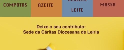 Cáritas Diocesana de Leiria lança desafio no mês dedicado à Alimentação