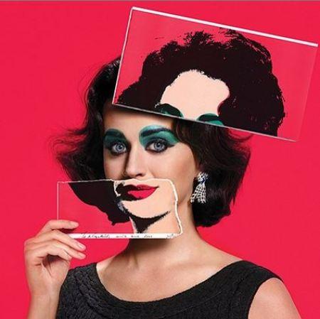 Katy Perry como Elizabeth Taylor para a edição de setembro - a mais importante do ano - da Harpers Bazaar americana