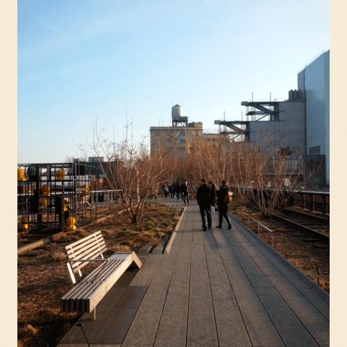 High Line - aquele passeio gostoso a qualquer hora do dia.