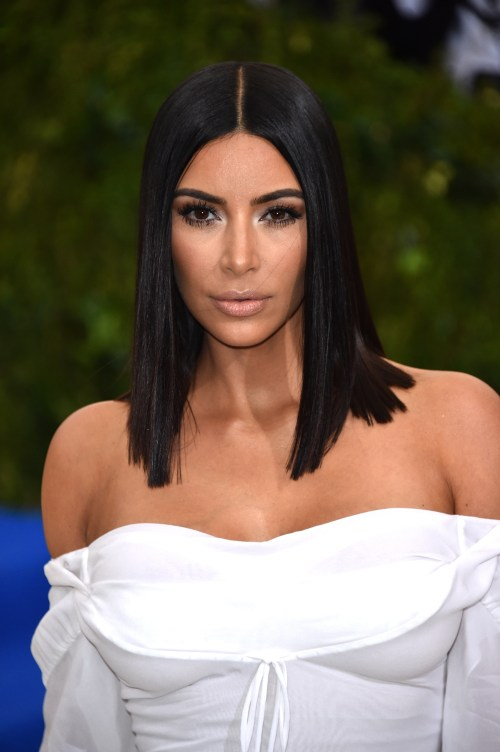 """NEW YORK, NY - MAY 01: Kim Kardashian attends """"Rei Kawakubo/Comme des Garcons: Art Of The In-Between"""" Costume Institute Gala at Metropolitan Museum of Art on May 1, 2017 in New York City. (Photo by John Shearer/Getty Images)"""