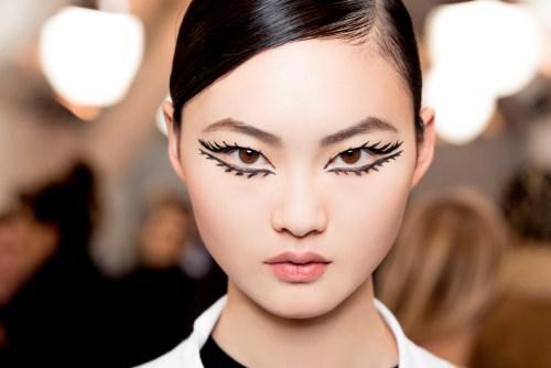 Maquiagem - olhos dramáticos Dior