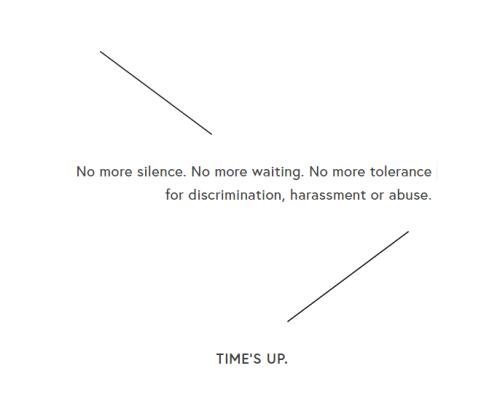 o que significa movimento times up