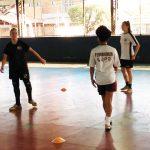 foto01 Futsal feminino livre adulto treina com foco na Liga Nacional